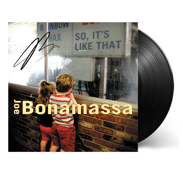 Joe Bonamassa: So It's Like That (Vinyl) (Released: 2002) - Hand-Signed