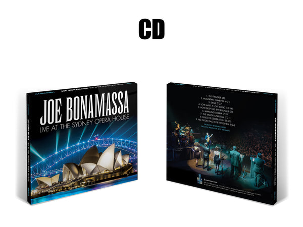 Joe Bonamassa: Live at the Sydney Opera House (CD) (Released: 2019)