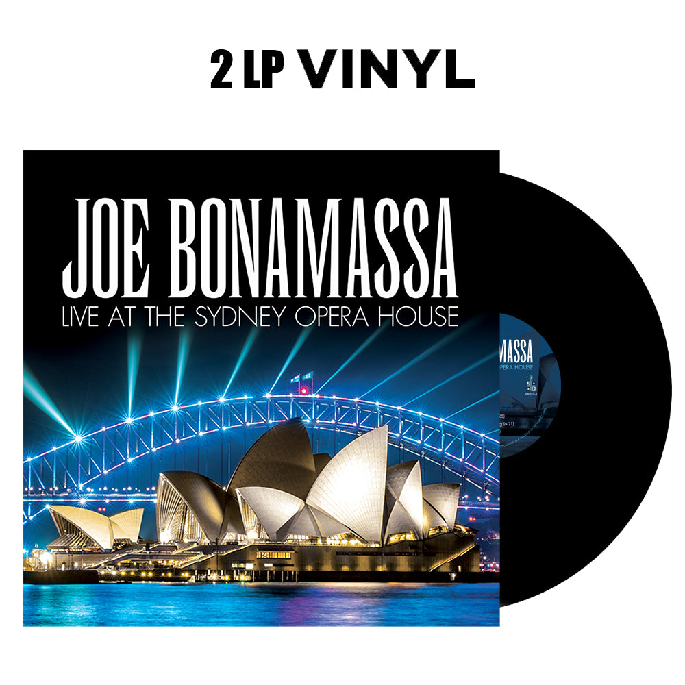 Joe Bonamassa: Live at the Sydney Opera House (Double Vinyl Set) (Released: 2019)
