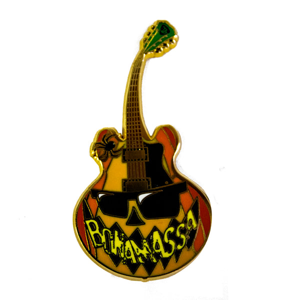 Spooky Blues Pin