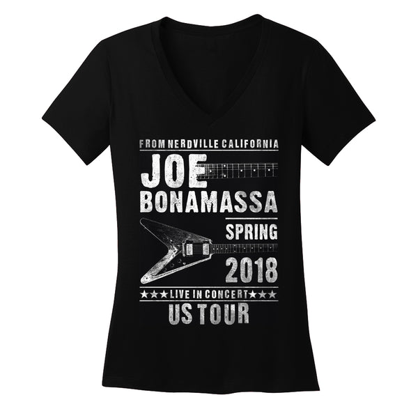 2018 U.S. Spring Tour V-Neck (Women)