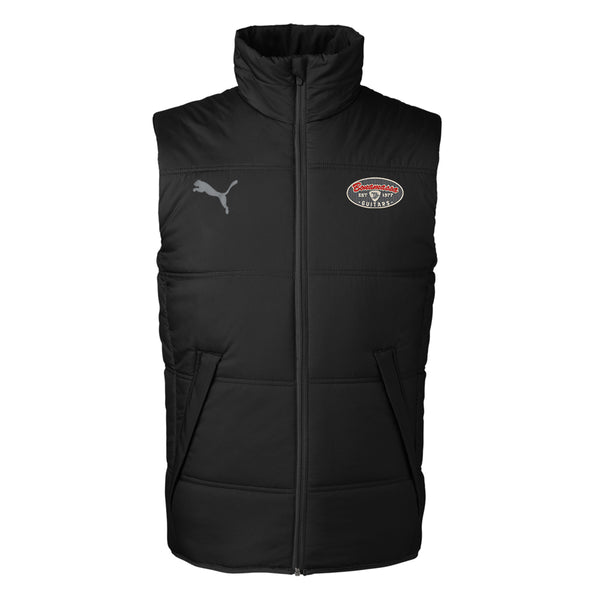 The Stamp Puma Padded Vest (Unisex) - Black