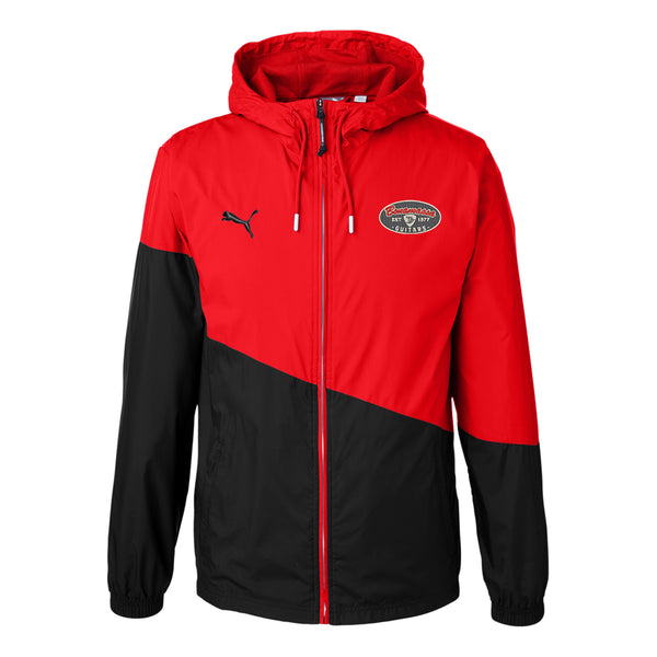 The Stamp Puma Windbreaker (Unisex) - Red