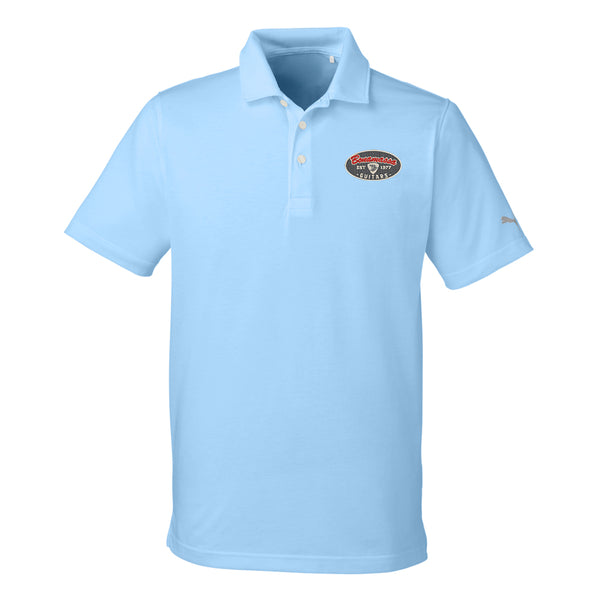 The Stamp Puma Polo (Men) - Light Blue