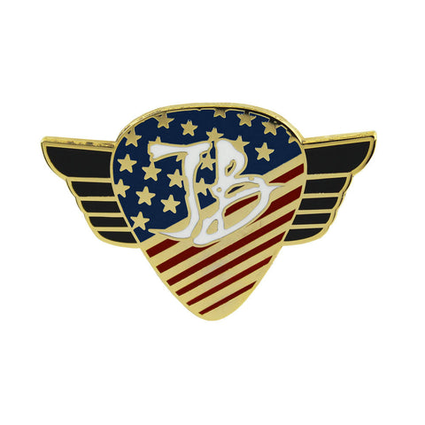 Star Spangled Blues Pin