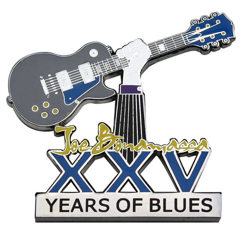 25th Anniversary Celebratory Pin