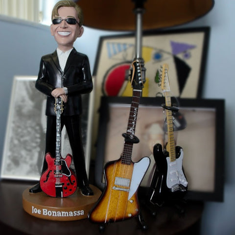 "Joe Bonamassa Signature ""1963 Firebird"" Mini Guitar Replica Collectible"