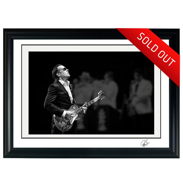 "#19 ""Shadows"" JOE BONAMASSA Collectible Litho (FRAMED - INTERNATIONAL ONLY)"