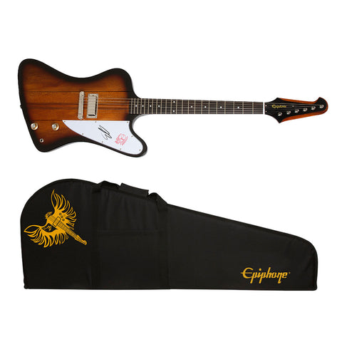 "Ultimate Fan Experience 2016 Ltd. Ed. Joe Bonamassa Signature Firebird I ""Treasure"" Tobacco Sunburst Custom Epiphone Package"