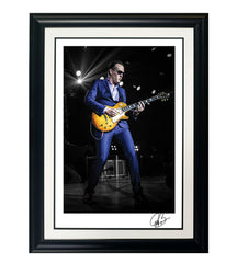 "#27 ""Suit & Blues "" JOE BONAMASSA Collectible Litho (FRAMED - USA ONLY)"