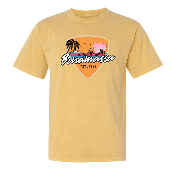 Blues Sunset T-Shirt (Unisex) - Mustard