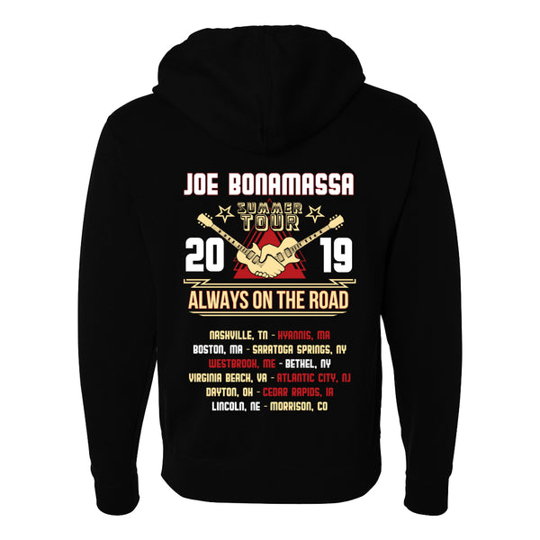 2019 U.S. Summer Tour Zip-Up Hoodie (Unisex)