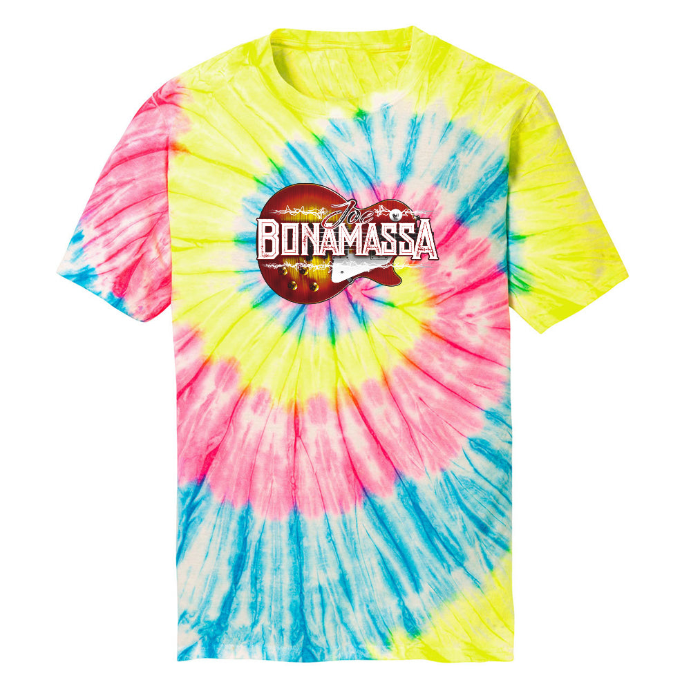 Electric Sunburst Tie Dye T-Shirt (Unisex) - Neon