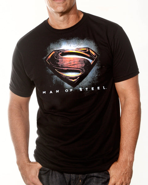 Superman - Man Of Steel T-Shirt (Men)