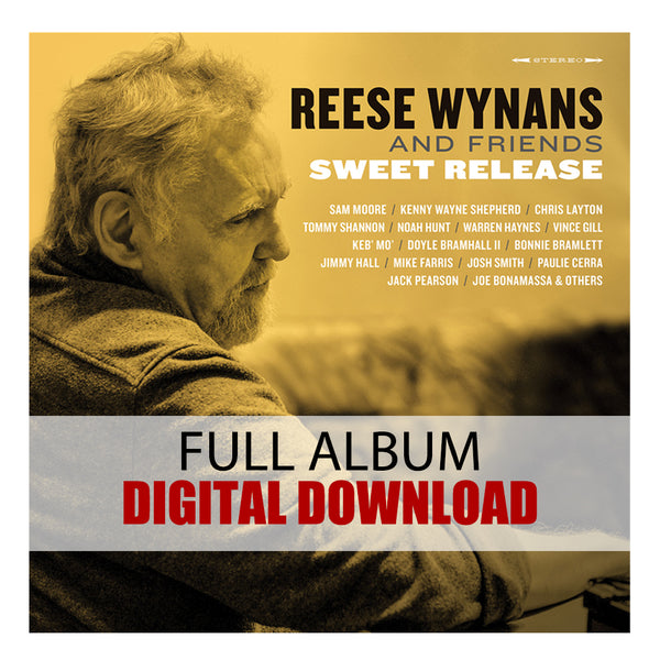 ***PRE-ORDER*** Reese Wynans and Friends: Sweet Release (Digital Album) (Released: 2019)