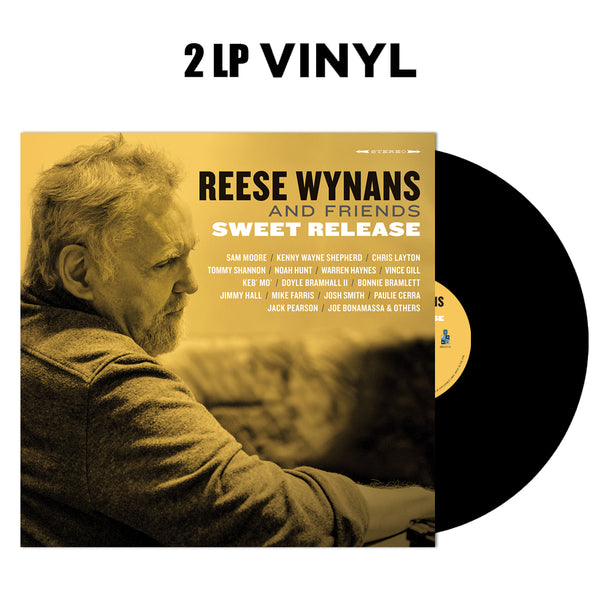 ***PRE-ORDER*** Reese Wynans and Friends: Sweet Release (Double Vinyl Set) (Released: 2019)