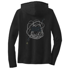 JB Tangled Up in Blues Hooded Long Sleeve (Women)