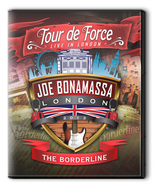 Tour de Force Borderline DVD - Power Trio Jam