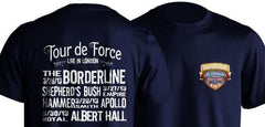 Tour de Force Ultimate Fan Box Set with all 4 DVDs + 2 tickets + Free T Shirt