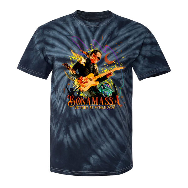Victory at the Ryman Tie Dye T-Shirt (Unisex) - Navy