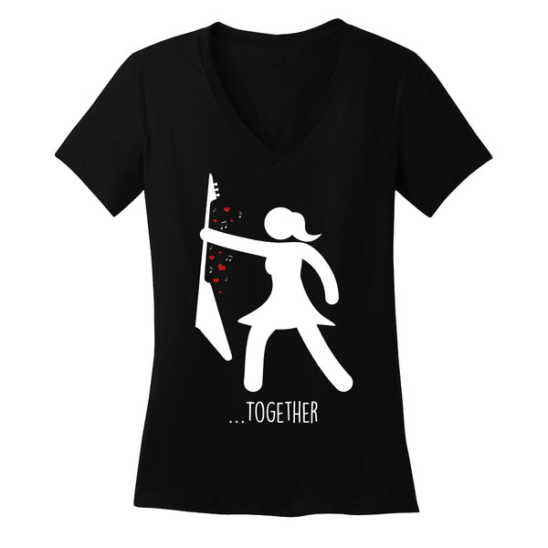 We Rock Together V-Neck (Women)