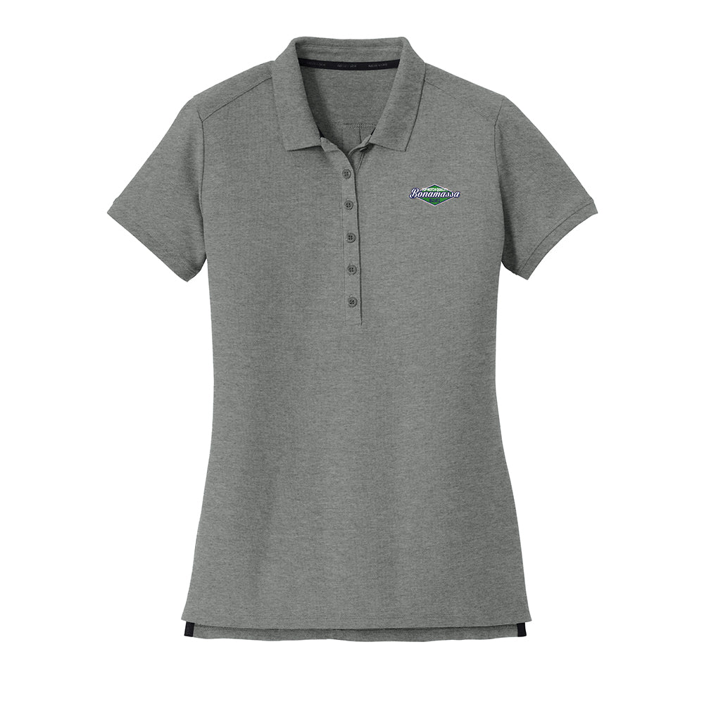 Top Notch New Era Polo (Women) - Graphite