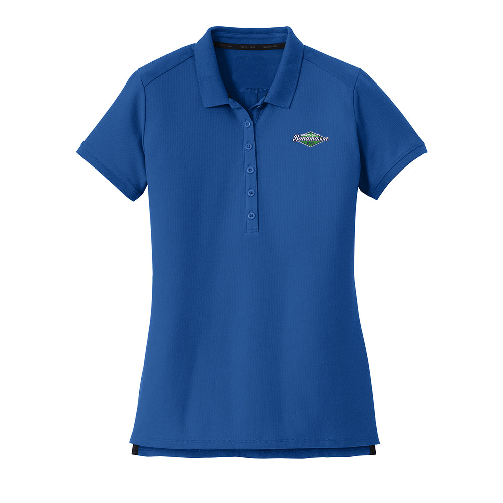 Top Notch New Era Polo (Women) - Royal