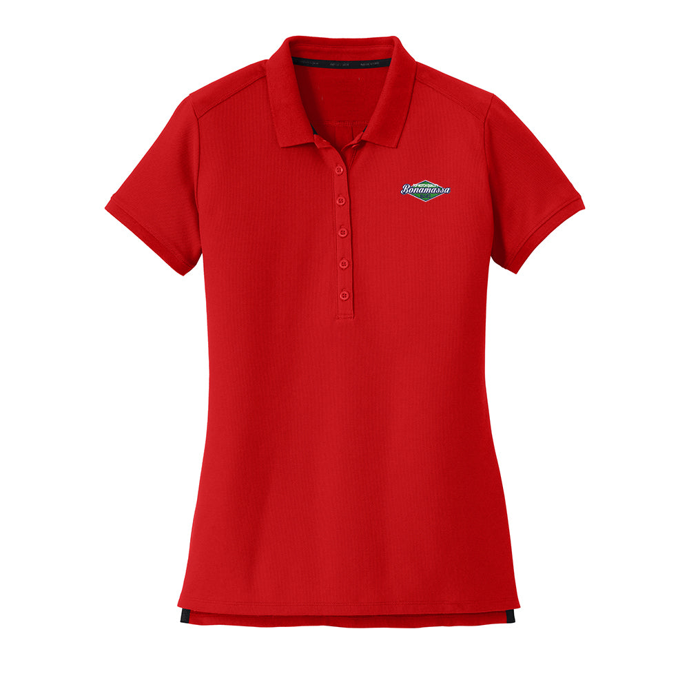 Top Notch New Era Polo (Women) - Scarlet