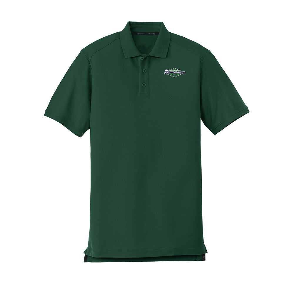 Top Notch New Era Polo (Men) - Green
