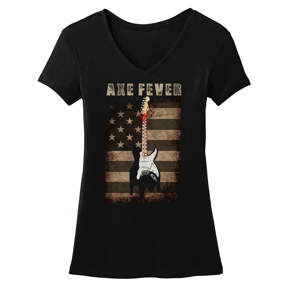 Tribut - Axe Fever V-Neck (Women)