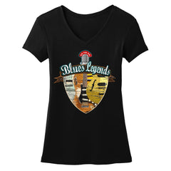 Tribut - Blues Legends V-Neck (Women)
