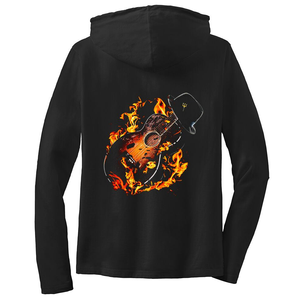 Tribut - Guitar Hell Hooded Long Sleeve (Women)