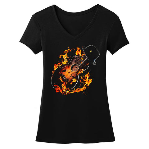 Tribut - Guitar Hell V-Neck (Women)