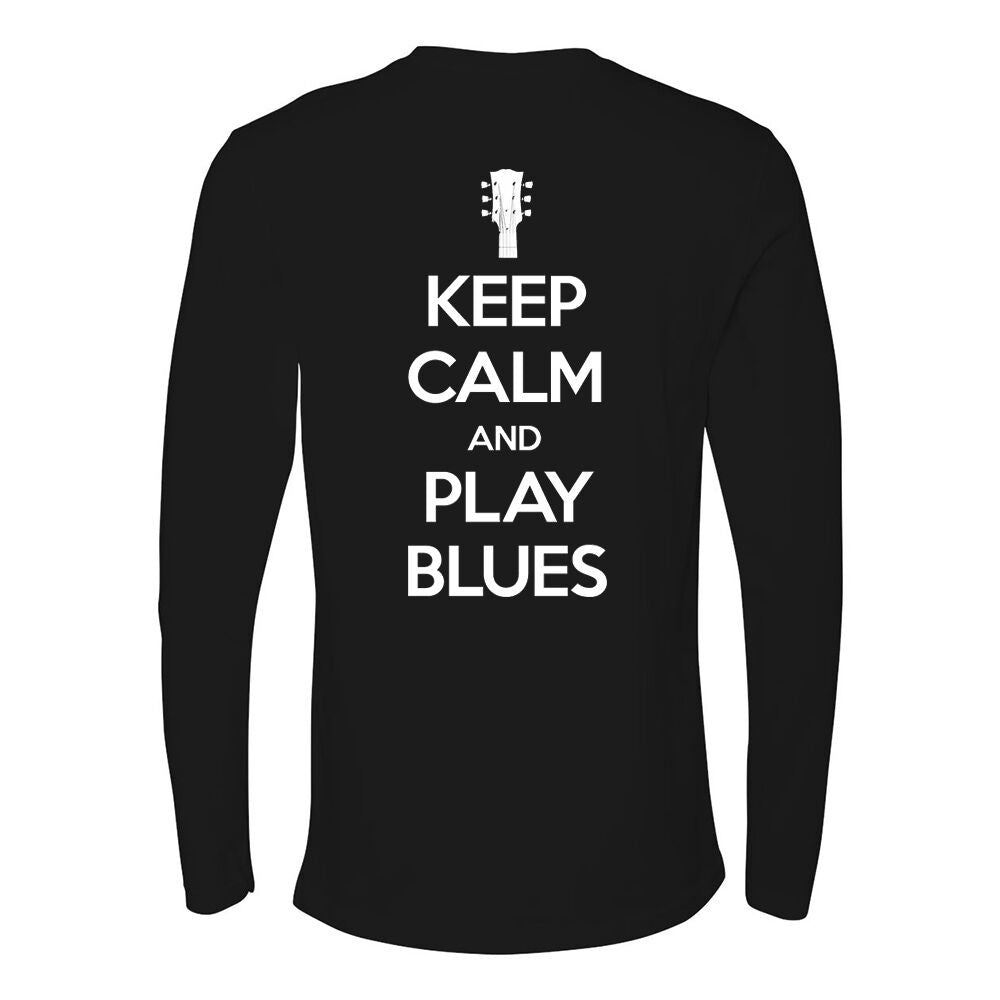 Tribut - Keep Calm And Play Blues Long Sleeve (Men)