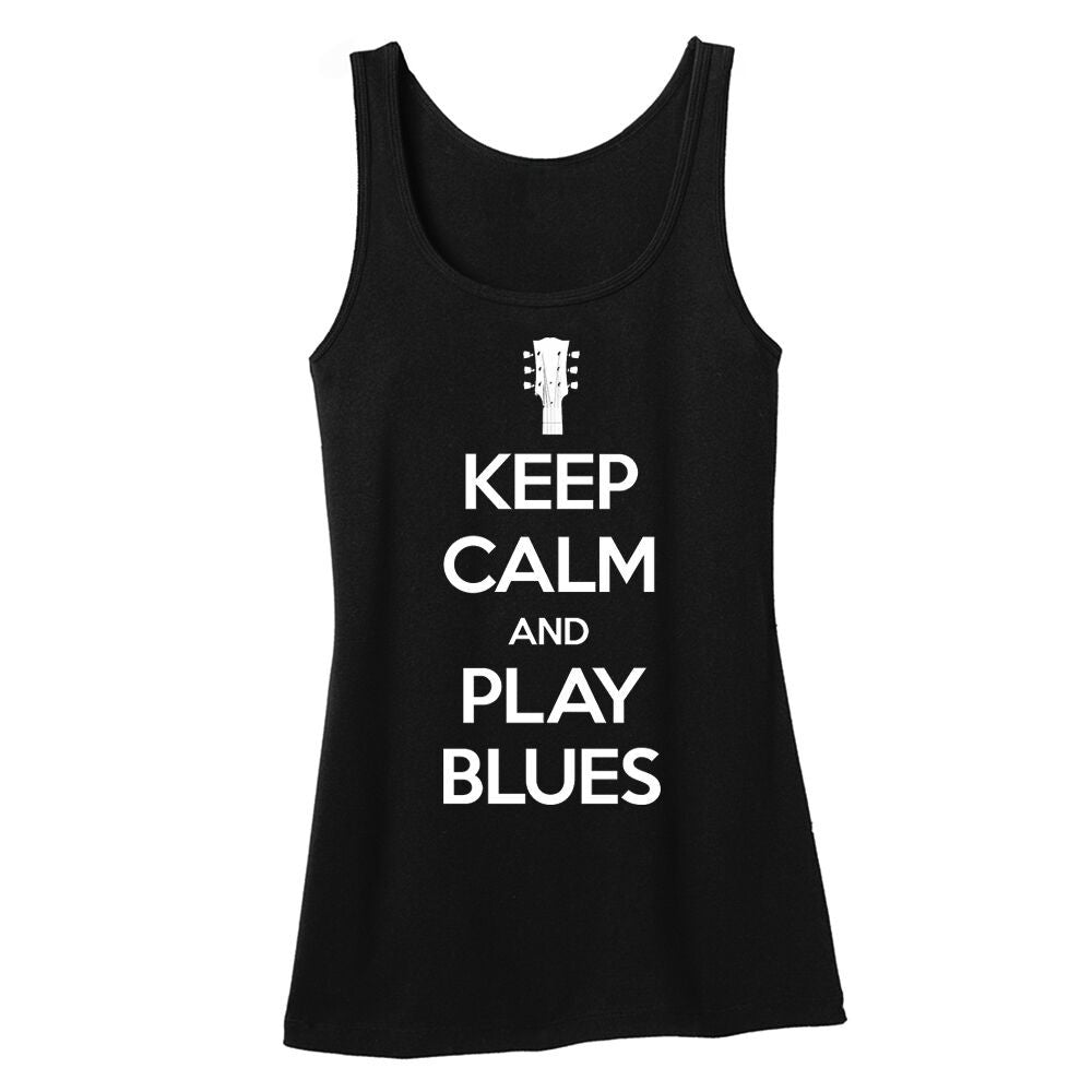 Tribut - Keep Calm And Play Blues Tank (Women)