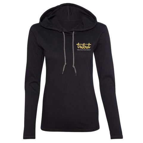 Tribut - Let There Be Blues Hooded Long Sleeve (Women)