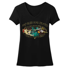 Tribut - Let There Be Blues V-Neck (Women)
