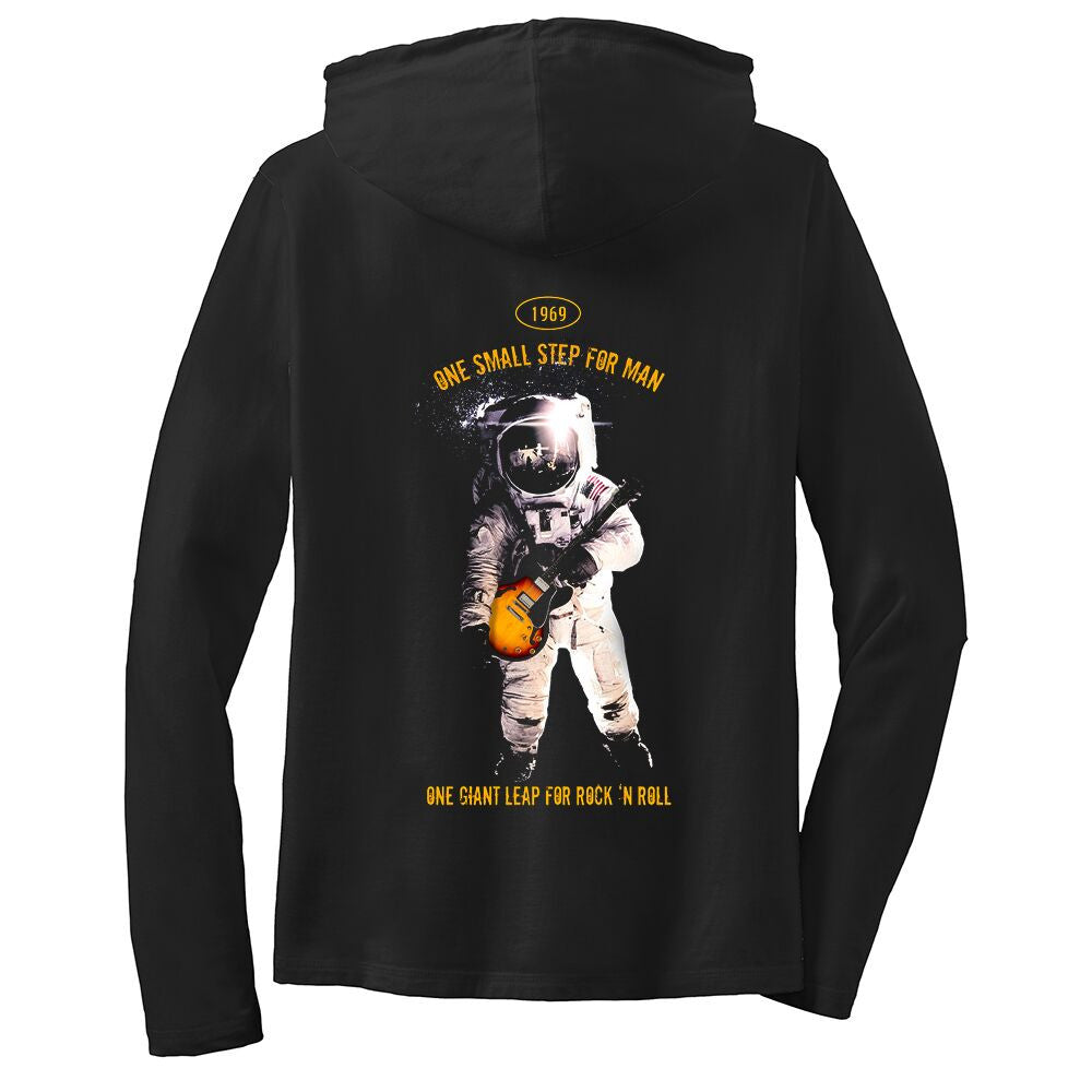 Tribut - One Giant Leap for Rock n Roll Hooded Long Sleeve (Women)