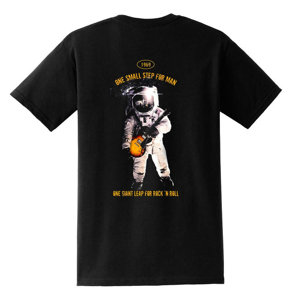 Tribut - One Giant Leap for Rock n Roll Pocket T-Shirt (Unisex)