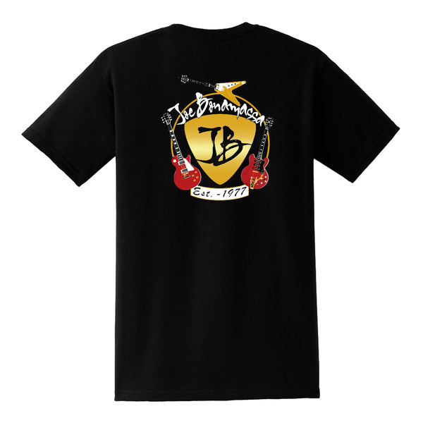 Guitar Trifecta Pocket T-Shirt (Unisex) - Black