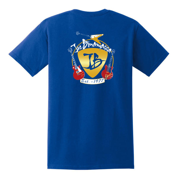 Guitar Trifecta Pocket T-Shirt (Unisex) - Royal
