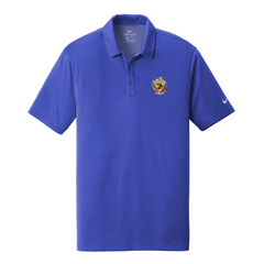 Guitar Trifecta Nike Dri-FIT Hex Textured Polo (Men) - Royal