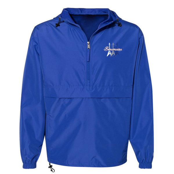 Triple Flying V Champion Packable Quarter-Zip Jacket (Unisex) - Royal