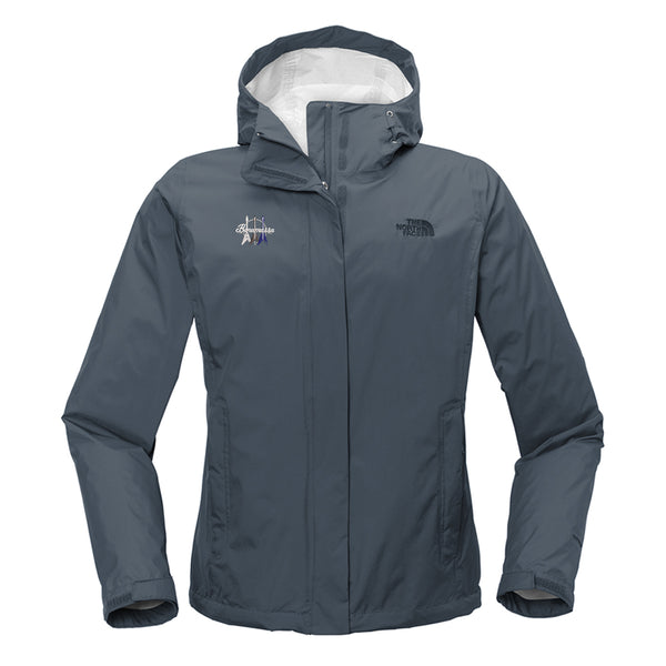 Triple Flying V The North Face Rain Jacket (Women) - Blue