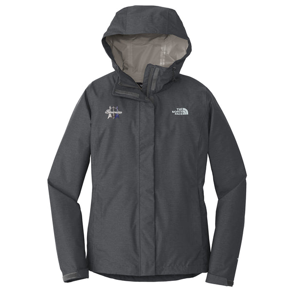 Triple Flying V The North Face Rain Jacket (Women) - Grey