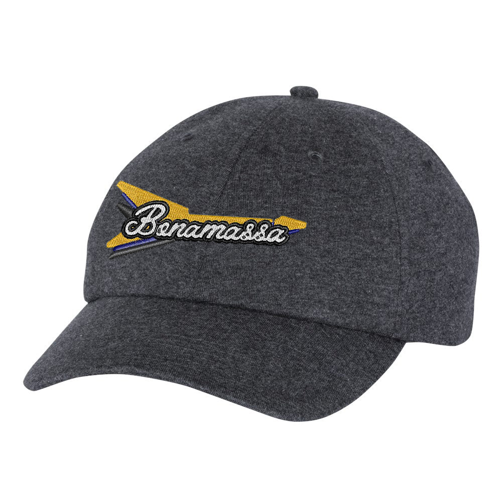 Triple Flying V Champion Dad Hat - Granite