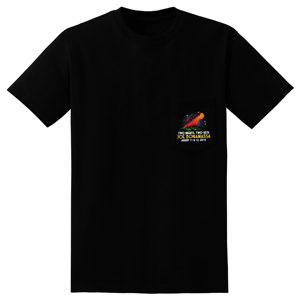 2019 Red Rocks Headstock Pocket T-Shirt (Unisex)