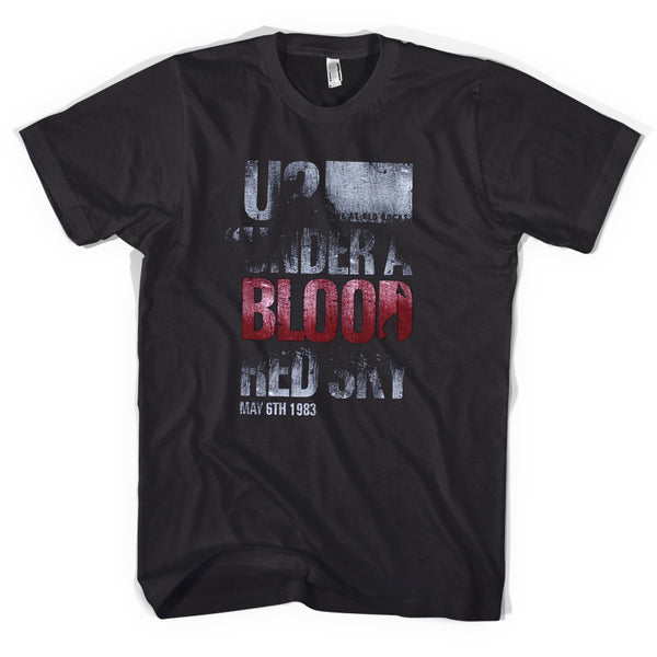 U2 - Under the Blood Red Sky T-Shirt (Unisex)
