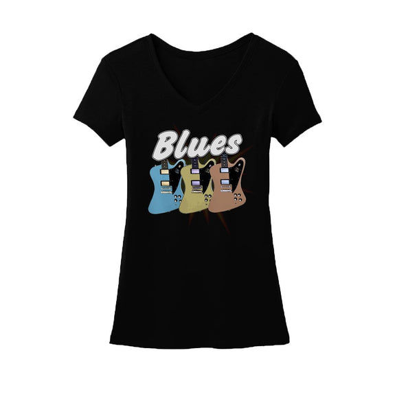 Blues Amigos V-Neck (Women)