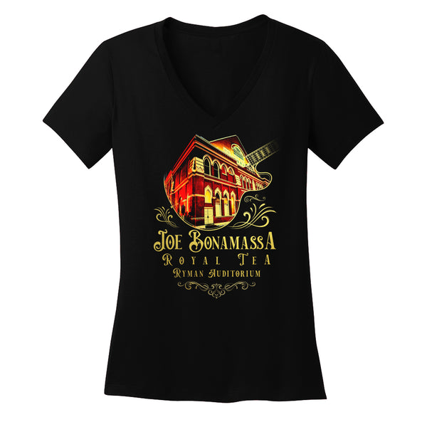 Royal Tea Live at the Ryman Auditorium V-Neck T-Shirt (Women)